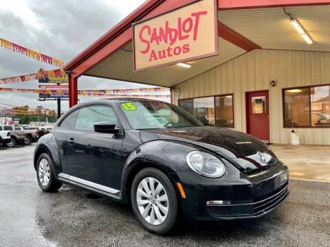 2015 Volkswagen Beetle for sale at Sandlot Autos in Tyler TX