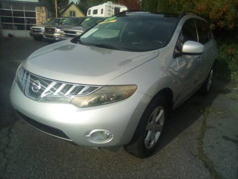 2009 Nissan Murano for sale at Payless Car & Truck Sales in Mount Vernon WA