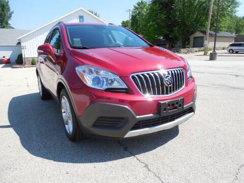 2016 Buick Encore for sale at Streich Motors Inc in Fox Lake WI