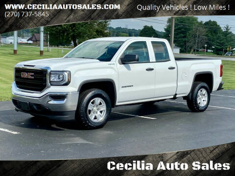 2016 GMC Sierra 1500 for sale at Cecilia Auto Sales in Elizabethtown KY