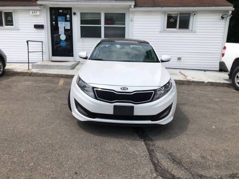 2012 Kia Optima for sale at USA Auto Sales in Leominster MA