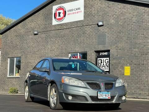 2009 Pontiac G6 for sale at Big Man Motors in Farmington MN