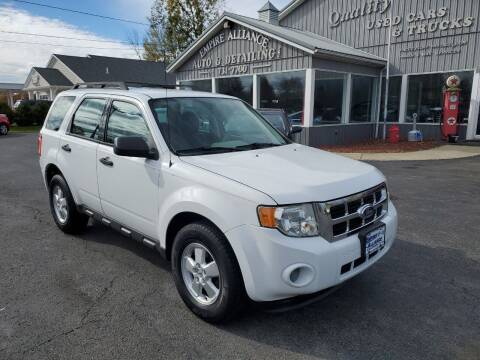 2010 Ford Escape for sale at Empire Alliance Inc. in West Coxsackie NY