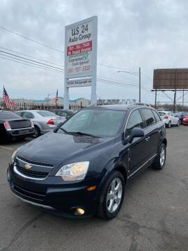2014 Chevrolet Captiva Sport for sale at US 24 Auto Group in Redford MI