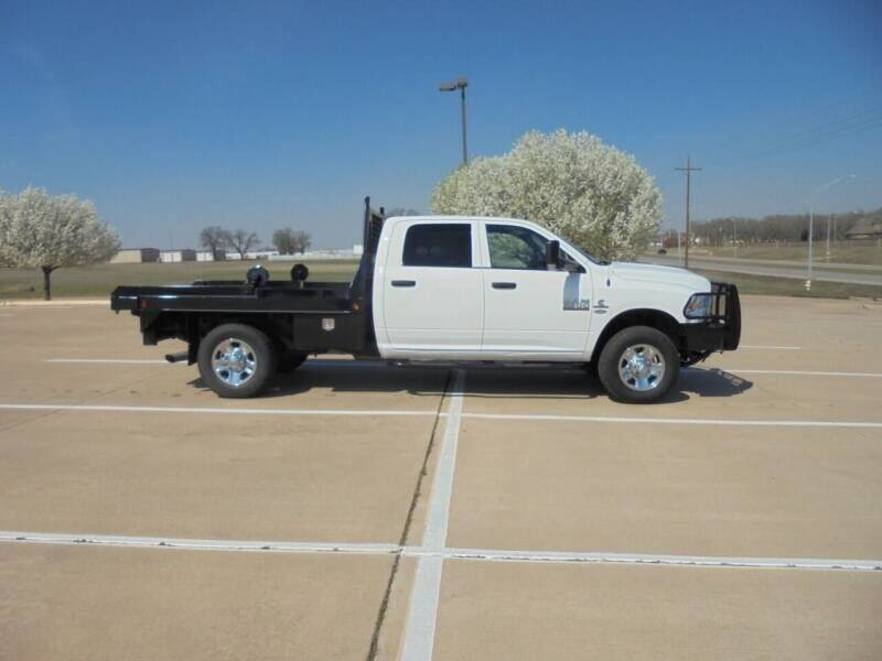 2017 RAM Ram Pickup 3500 for sale at MANGUM AUTO SALES in Duncan OK