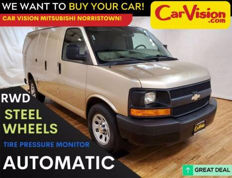 2013 Chevrolet Express Cargo for sale at Car Vision Mitsubishi Norristown in Trooper PA