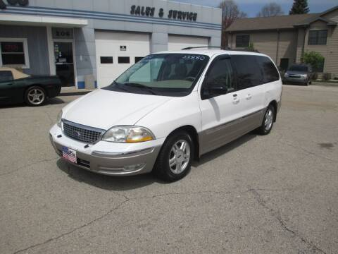2002 Ford Windstar for sale at Cars R Us Sales & Service llc in Fond Du Lac WI