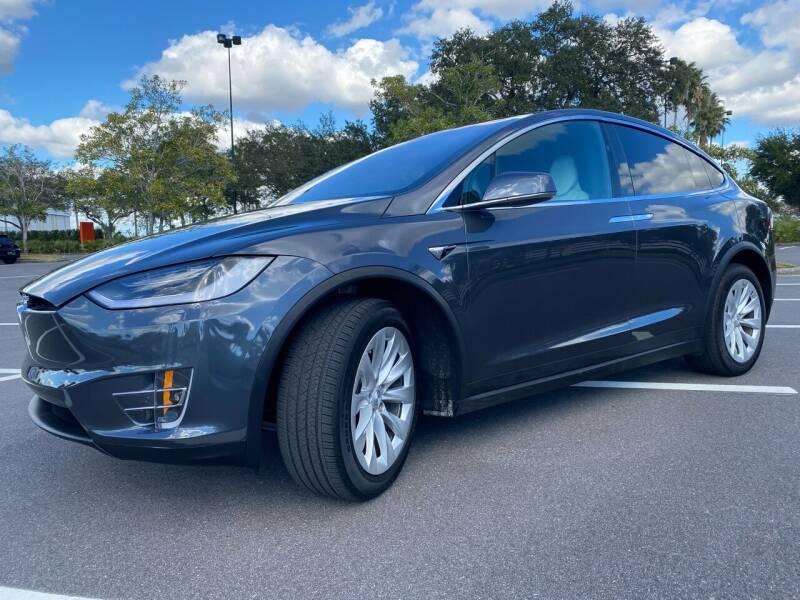 2017 Tesla Model X for sale at Florida Coach Trader Inc in Tampa FL