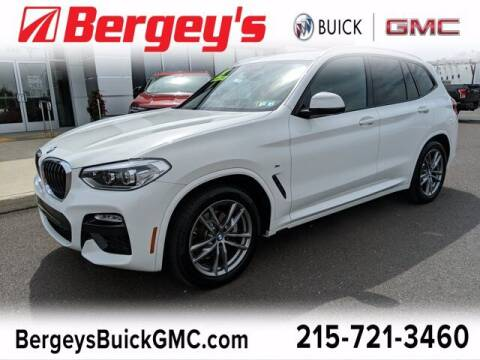 2019 BMW X3 for sale at Bergey's Buick GMC in Souderton PA