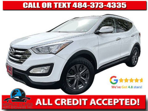 2014 Hyundai Santa Fe Sport for sale at World Class Auto Exchange in Lansdowne PA