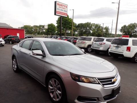 2017 Chevrolet Impala for sale at Marty's Auto Sales in Savage MN