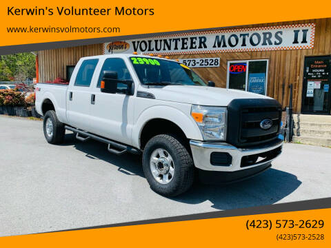 2014 Ford F-350 Super Duty for sale at Kerwin's Volunteer Motors in Bristol TN