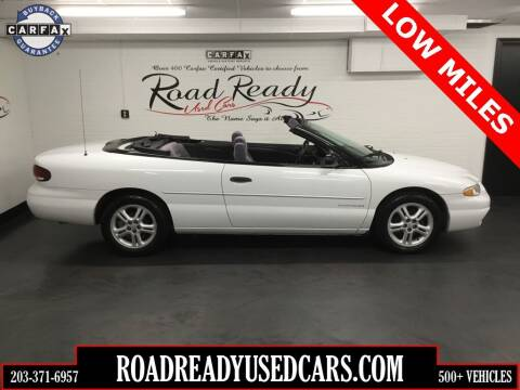 2000 Chrysler Sebring for sale at Road Ready Used Cars in Ansonia CT