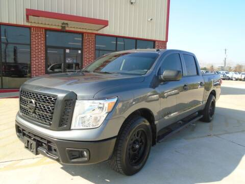 2019 Nissan Titan for sale at Premier Foreign Domestic Cars in Houston TX