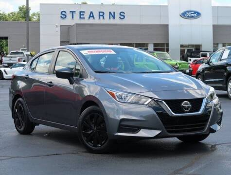 2020 Nissan Versa for sale at Stearns Ford in Burlington NC