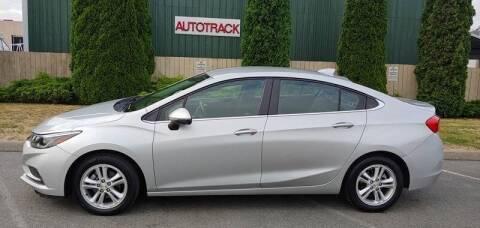 2018 Chevrolet Cruze for sale at AUTOTRACK INC in Mount Vernon WA