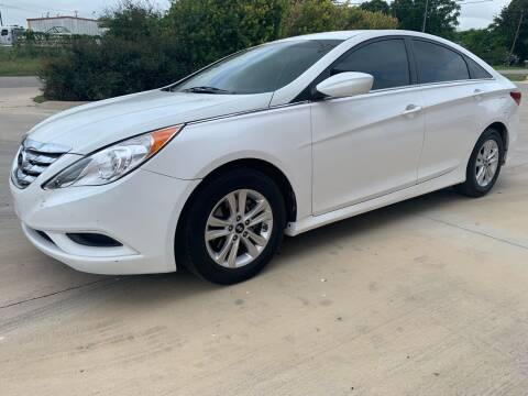2014 Hyundai Sonata for sale at K & B Motors LLC in Mc Queeney TX