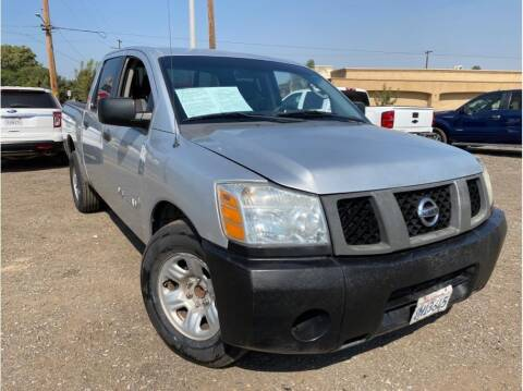 2007 Nissan Titan for sale at Dealers Choice Inc in Farmersville CA