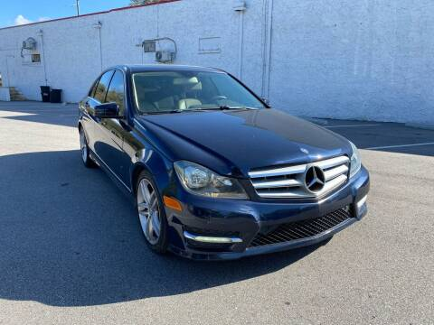 2013 Mercedes-Benz C-Class for sale at LUXURY AUTO MALL in Tampa FL