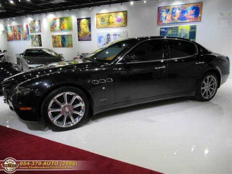 2005 Maserati Quattroporte for sale at The New Auto Toy Store in Fort Lauderdale FL