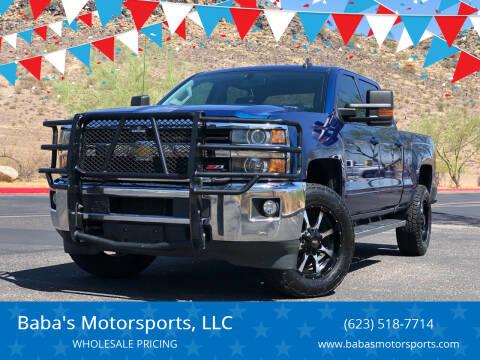 2016 Chevrolet Silverado 2500HD for sale at Baba's Motorsports, LLC in Phoenix AZ