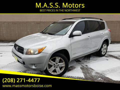 2007 Toyota RAV4 for sale at M.A.S.S. Motors in Boise ID