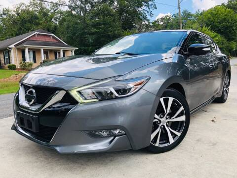 2017 Nissan Maxima for sale at Cobb Luxury Cars in Marietta GA