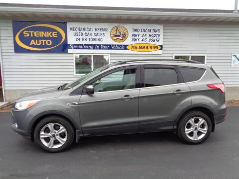 2014 Ford Escape for sale at STEINKE AUTO INC. - Steinke Auto Inc (South) in Clintonville WI