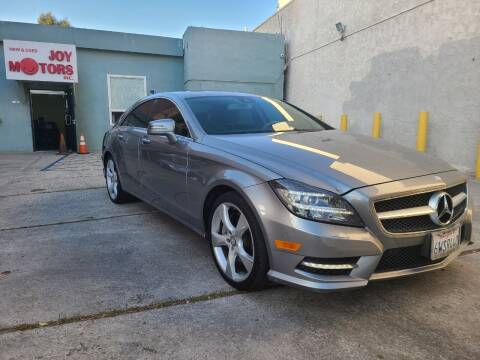 2012 Mercedes-Benz CLS for sale at Joy Motors in Los Angeles CA