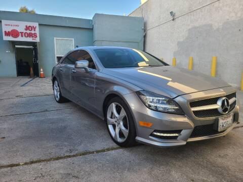2012 Mercedes-Benz CLS for sale at Joy Motors in Los Angeles CA