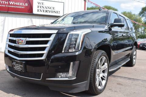 2016 Cadillac Escalade ESV for sale at Dealswithwheels in Inver Grove Heights MN