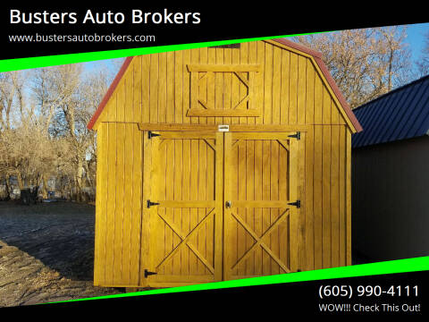 2020 Old Hickory Building 10 X 16 Lofted Barn for sale at Busters Auto Brokers in Mitchell SD