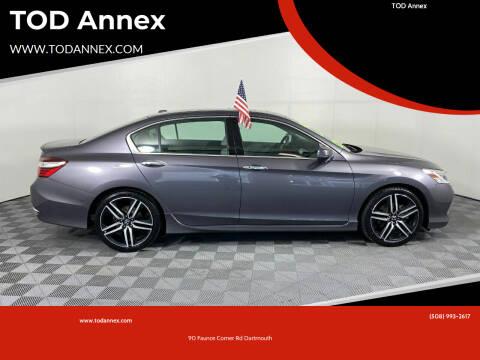 2016 Honda Accord for sale at TOD Annex in North Dartmouth MA