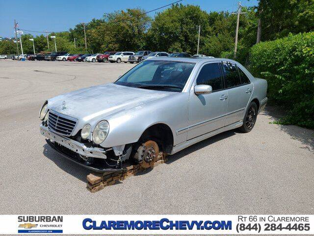 2001 Mercedes-Benz E-Class for sale at Suburban Chevrolet in Claremore OK