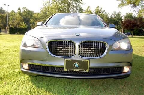 2012 BMW 7 Series for sale at Auto Legend Inc in Linden NJ