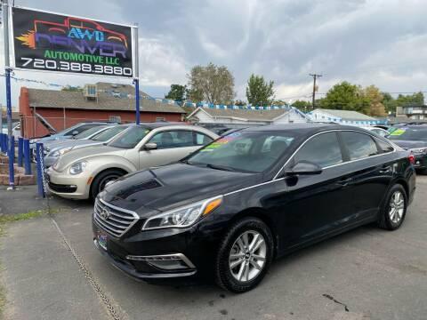 2015 Hyundai Sonata for sale at AWD Denver Automotive LLC in Englewood CO