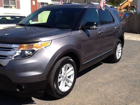 2013 Ford Explorer for sale at Lance Motors in Monroe Township NJ