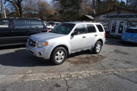 2012 Ford Escape for sale at E-Motorworks in Roswell GA