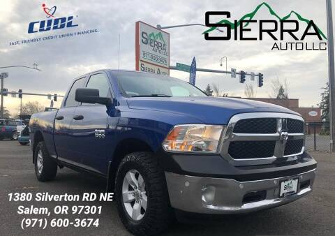 2016 RAM Ram Pickup 1500 for sale at SIERRA AUTO LLC in Salem OR