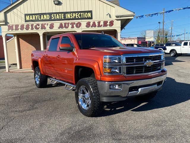 2015 Chevrolet Silverado 1500 for sale at Messick's Auto Sales in Salisbury MD