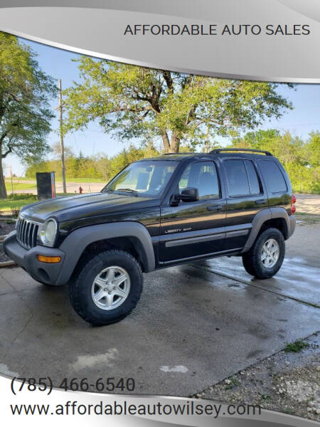 2002 Jeep Liberty for sale in Wilsey, KS