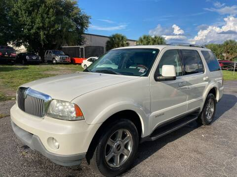 2004 Lincoln Aviator for sale at Top Garage Commercial LLC in Ocoee FL