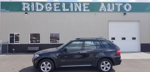 2009 BMW X5 for sale at RIDGELINE AUTO in Chubbuck ID