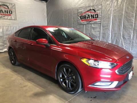 2018 Ford Fusion for sale at GRAND AUTO SALES in Grand Island NE