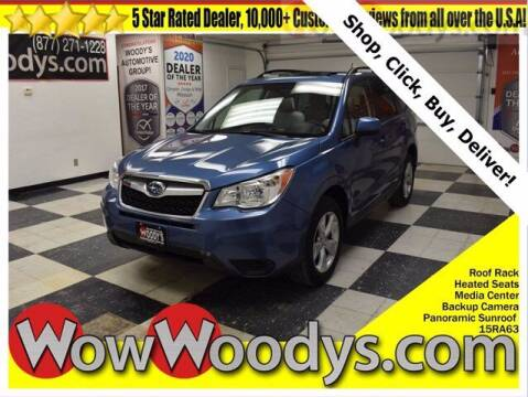 2015 Subaru Forester for sale at WOODY'S AUTOMOTIVE GROUP in Chillicothe MO