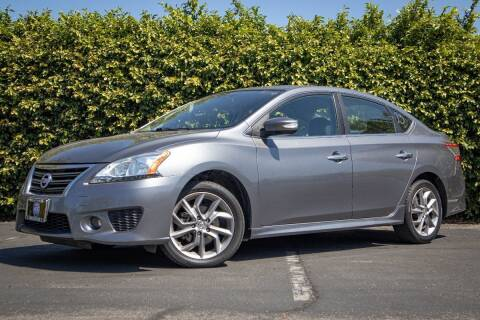 2015 Nissan Sentra for sale at 605 Auto  Inc. in Bellflower CA