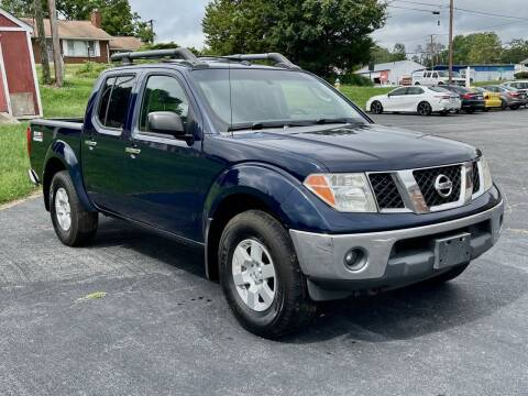 2008 Nissan Frontier for sale at ANZ AUTO CONCEPTS LLC in Fredericksburg VA