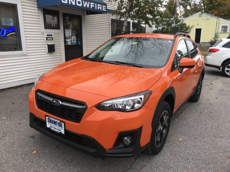 2018 Subaru Crosstrek for sale at Snowfire Auto in Waterbury VT