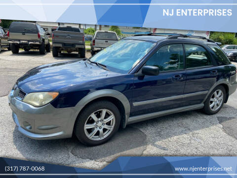 2006 Subaru Impreza for sale at NJ Enterprises in Indianapolis IN