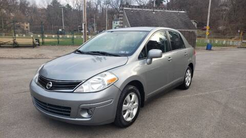 2010 Nissan Versa for sale at Seran Auto Sales LLC in Pittsburgh PA